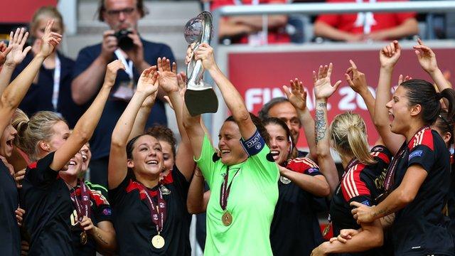 Jerman Juara Piala Eropa Wanita UEFA Women S EURO
