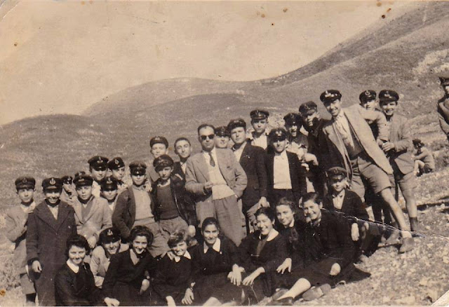 ΓΥΜΝΑΣΙΟΠΑΙΔΕΣ ΤΟΥ 1956 ΣΤΗΝ ΗΓΟΥΜΕΝΙΤΣΑ
