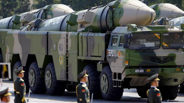 China tiene misiles 'asesinos de portaviones' para responder a EEUU
