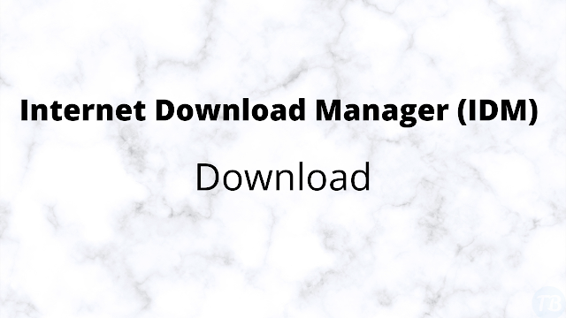Internet Download Manager For Windows - IDM free download