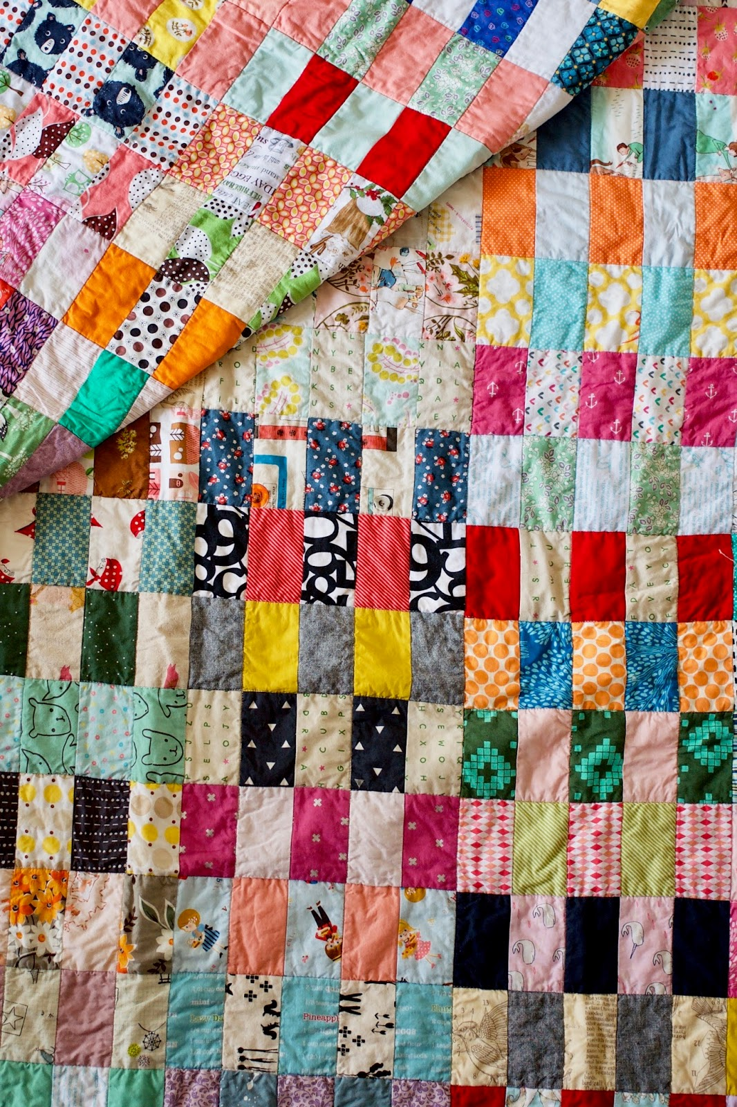 A quilt is nice scrap stack quilt for Scrap quilt