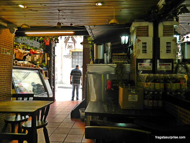 Restaurante popular em La Candelaria, Bogotá