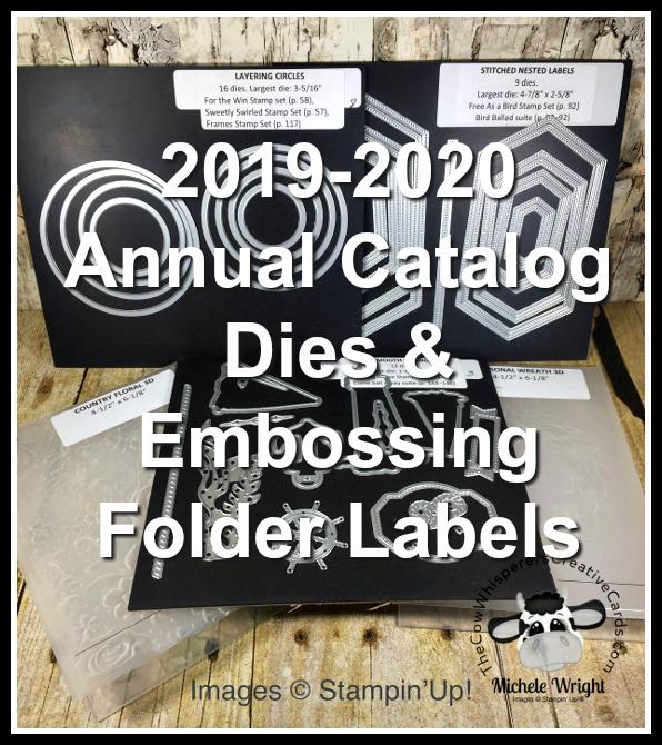 Free, Label, Dies, Embossing Folder