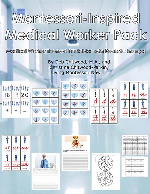 Montessori-Inspired Medical Worker Pack