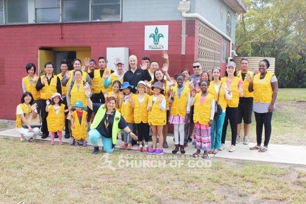 3052nd Worldwide Environmental Cleanup at Coburg Lake area, VIC