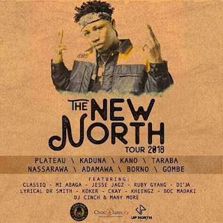 ClassiQ Announces 'The New North' Tour Featuring MI Abaga, Dj Cinch, Boc Madaki and More