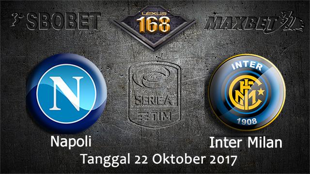 PREDIKSIBOLA - PREDIKSI TARUHAN BOLA NAPOLI VS INTER MILAN 22 OCTOBER 2017 (SERIE A)