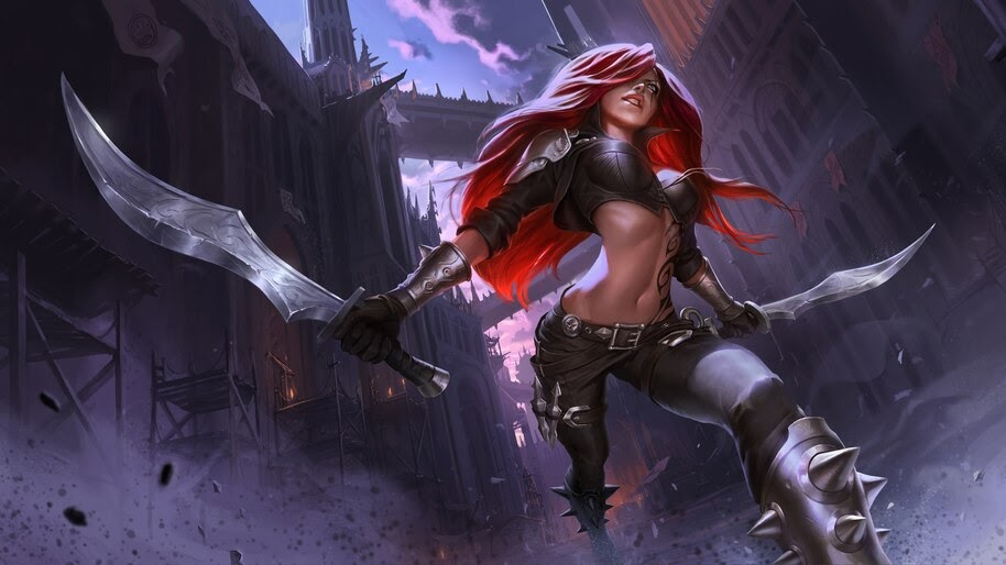 Katarina Lol Legends Of Runeterra 4k Wallpaper 41578