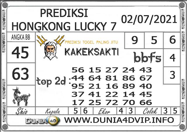 Prediksi Togel HONGKONG LUCKY 7 DUNIA4D 02 JULI 2021