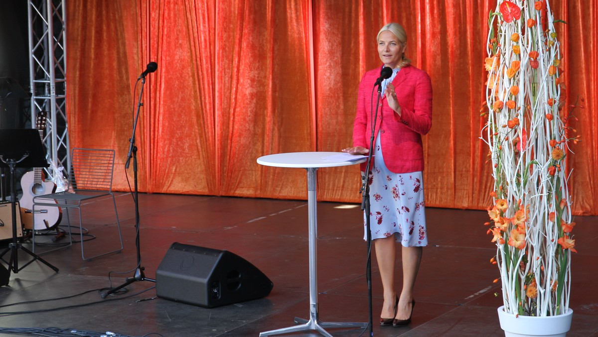 Crown Princess Mette-Marit opened the Bjørnson Festival in Molde
