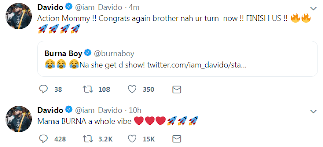 Burna Boy's Mom Trends on Social Media, since She stole her son's show at the Soundcity Award Night