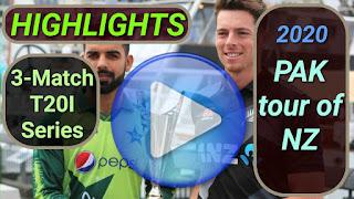 New Zealand vs Pakistan T20I Series 2020
