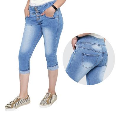 Celana Jeans Pendek Wanita Catenzo NU 159