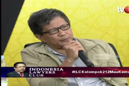 Closing Statement Rocky Gerung ILC: Gerakan 212 Adalah 'Roh Yang Jujur' Bangsa Ini