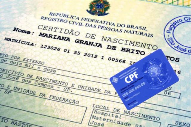 """""""Cartórios já emitem o CPF gratuitamente nas certidões de nascimento e vão ampliar serviços"""""""