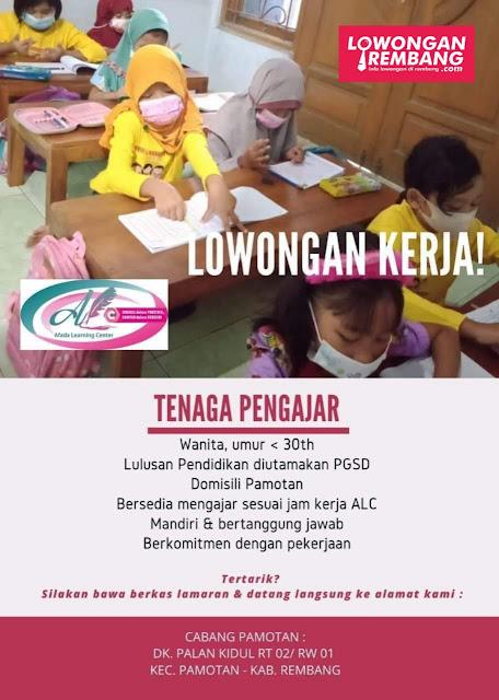 Lowongan Kerja Guru Tutor Bimbingan Belajar Afada Learning Center Rembang