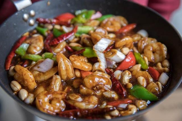 KUNG PAO SHRIMP #chinese #recipe