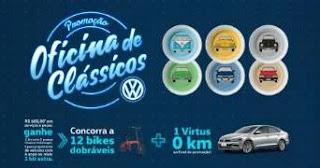 Cadastrar Promoção Volkswagen Oficina de Clássicos 2019 2020