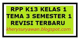 Rpp 1 Lembar Kelas 1 Tema 3 Semester 1 Revisi Terbaru Kherysuryawan Id