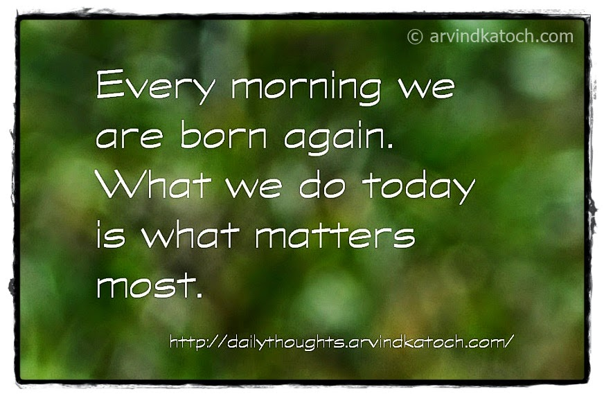 Born, again, matter, think, Daily Quote, Wallpaper,