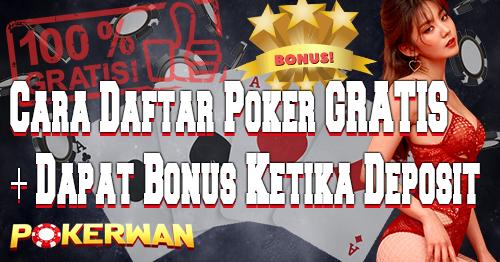 Daftar Poker Dapat Chip Gratis