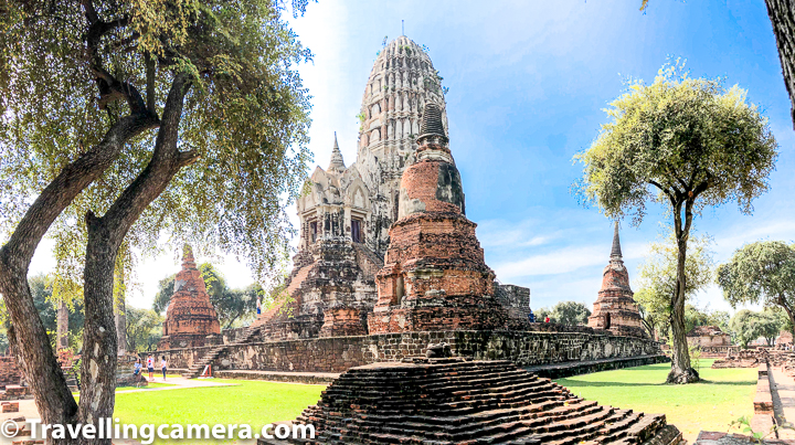 Related Blogpost from Thailand - ChinaTown Market - One of the popular shopping places in Bangkok, Thailand    Pay attention to the white strcuture in above photograph of Wat Ratcha Burana and then look at photograph of main temples in Angkor Wat. It's easy to recall Cambodia memories while walking inside Wat Ratcha Burana compound in Ayutthaya.      Related Blog-post : Khao San Road - One of the most happening Nightlife places in Bangkok