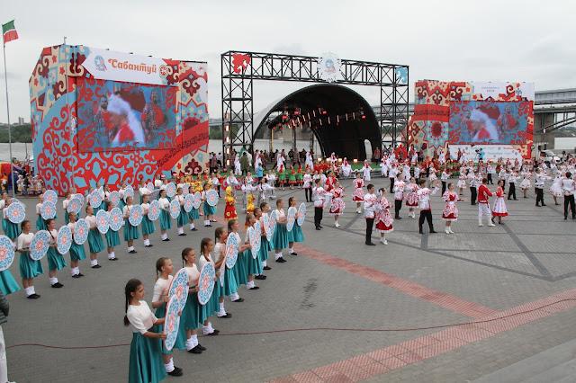 «Маринс Парк Отель Новосибирск» встретил федеральный сабантуй