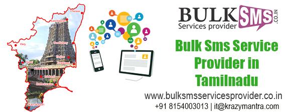 Bulk sms service provider in tamilnadu