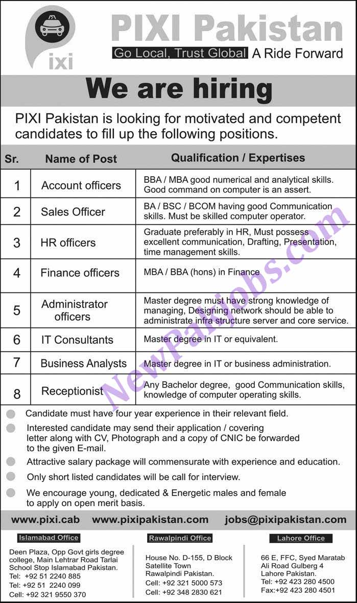 Jobs-in-PIXI-Pakistan-jobs