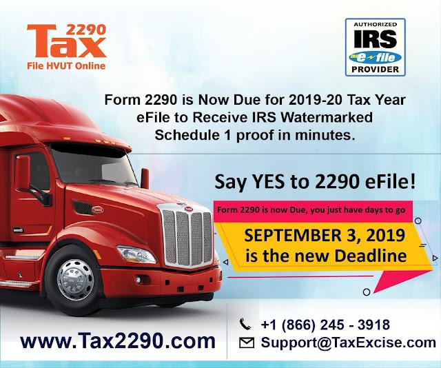2290 form for 2019  HVUT Tax Form 15