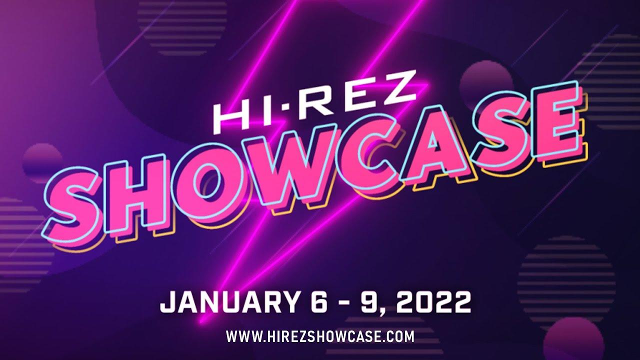 Hi-Rez Showcase 2022 and SMITE World Championship Announced for January