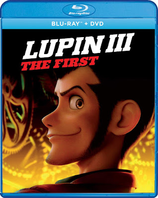 Lupin Iii The First 2019 Bluray Dvd Combo