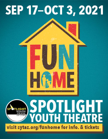 THIS MONTH'S SITE SPONSOR: Spotlight Youth Theatre presents...