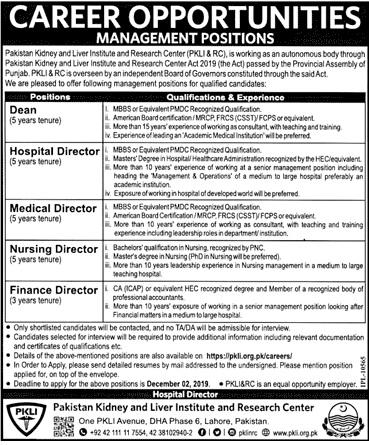 Health Department Govt Jobs 2020