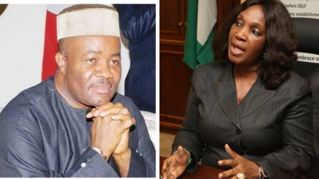 More allegations against Akpabio as Joy Nunieh 'explodes' #Arewapublisize