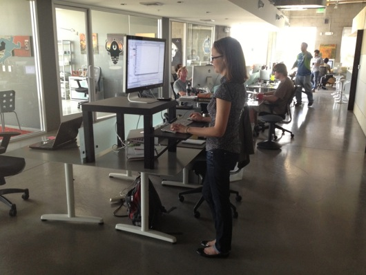 Stand Up Desk Stand Up Exercises Burns Calories and Fat My
