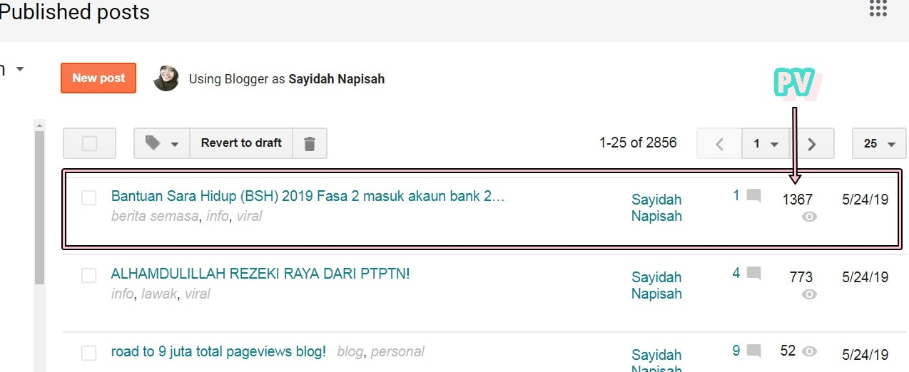 tips blogging trafik tinggi