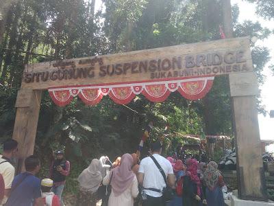 Liburan Ke Situgunung Suspension Bridge, Jembatan Gantung Terpanjang di Sukabumi