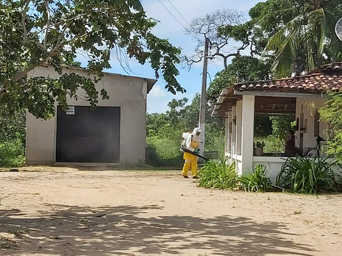 SÃO JOSÉ DOS RAMOS: Prefeitura reforça desinfecção e limpeza em mais três sítios.