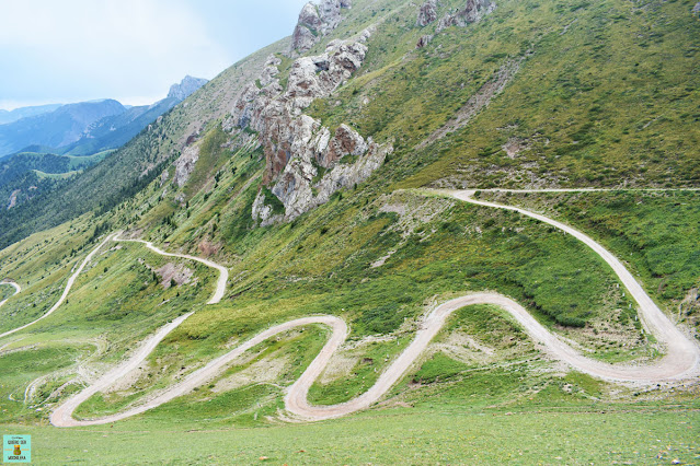 Carreteras de Kirguistán
