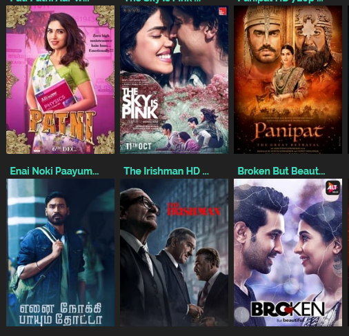 Tamilrockers 2019 Link : Hindi, Tamil, Malayalam, Telugu Movies Free Download