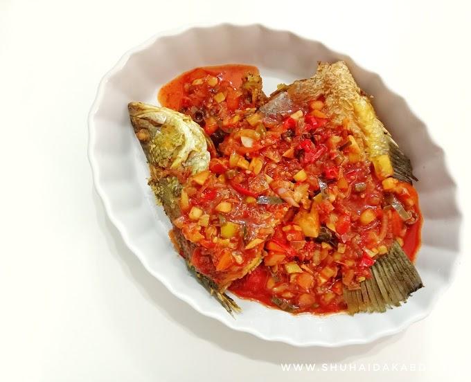 Resepi Ikan Siakap Tiga Rasa Ala Thai