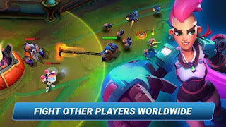 Planet of Heroes - Action Moba Apk