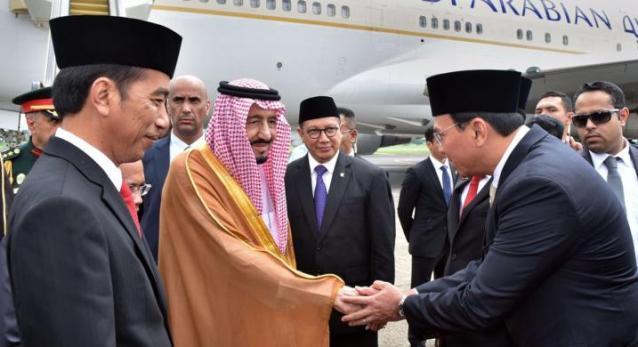 Saat Ahok Bersalaman dengan Raja Salman dari Arab Saudi