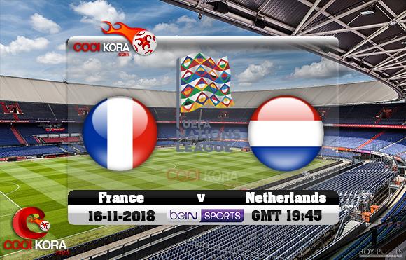 مشاهدة مباراة هولندا وفرنسا اليوم 16-11-2018 دوري الأمم الأوروبية