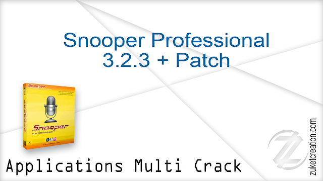 Snooper Professional 3.2.3 + Patch