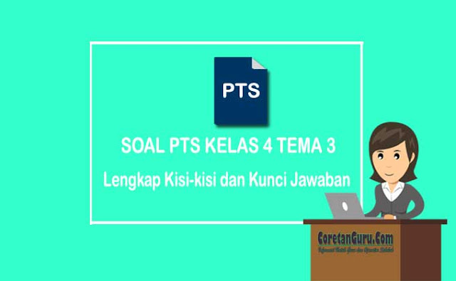 Soal PTS Kelas 4 Tema 3 Semester 1 Kurikulum 2013 Lengkap
