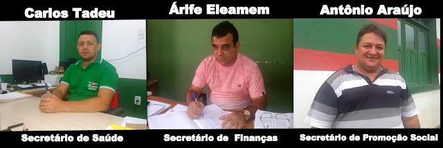 TARAUACÁ/ELEIÇÕES 2016: Três secretários deixarão a gestão no dia 1° de abril para concorrer ao Legislativo.