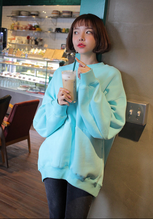 Pocketed Extended Sleeve Jacket