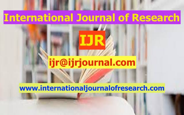 Call for Papers IJR - International Journal of Research